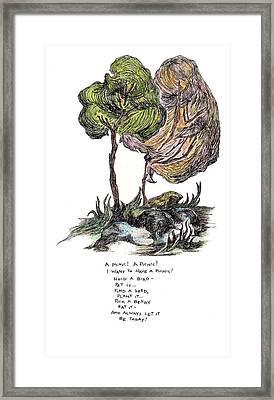 A Picnic Framed Print by Lily Hymen