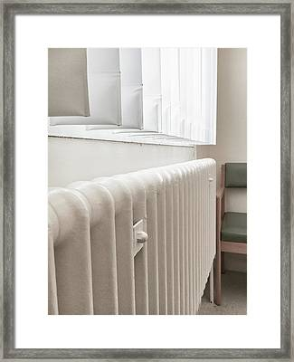 A Radiator Framed Print by Tom Gowanlock