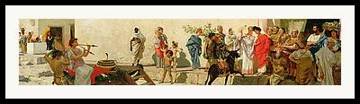 Faustini Framed Prints
