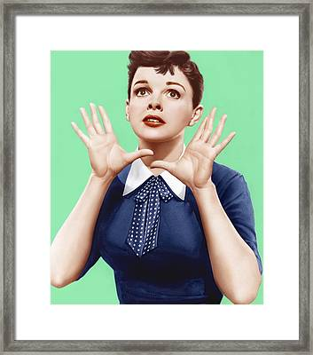 A Star Is Born, Judy Garland, 1954 Framed Print