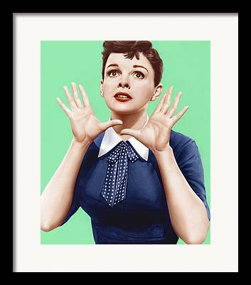 1950s Portraits Framed Prints