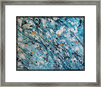A Teal Dream Framed Print by Rebecca Tacosa Gray