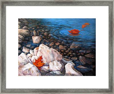 A Touch Of Fall Framed Print by Tanja Ware