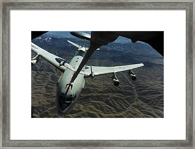 A U.s. Air Force E-3 Sentry Aircraft Framed Print