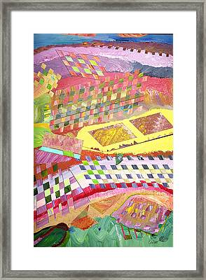 A View From Above Framed Print by Eric Devan