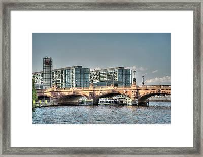 A View Under The Bridge Framed Print