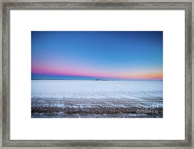 A Winter's Morning Framed Print by Ian McGregor
