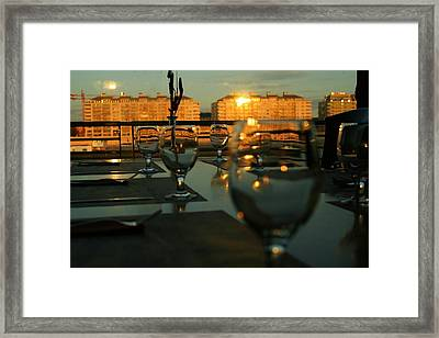 A38 Restaurant Framed Print