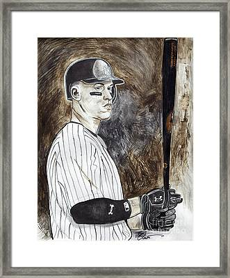 Aaron Judge Framed Print
