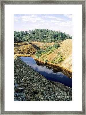 Abandoned Copper Mine Framed Print by Inga Spence