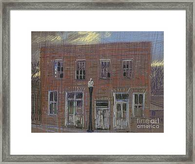 Abandoned Framed Print by Donald Maier