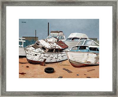 Abandoned Dreams Framed Print