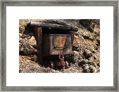 Abandoned Gold Mine Framed Print by Frank Wilson