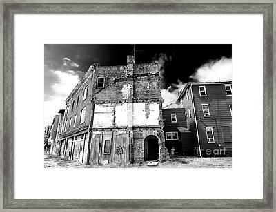 Abandoned In Asbury Park Framed Print