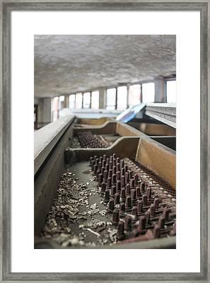 Abandoned Piano  Framed Print