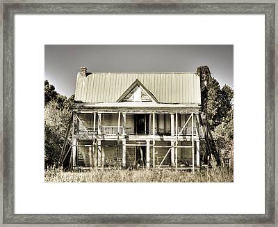 Abandoned Plantation House #1 Framed Print by Andrew Crispi