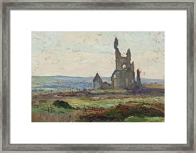 Ablain, St. Nazaire Framed Print by Maurice Cullen