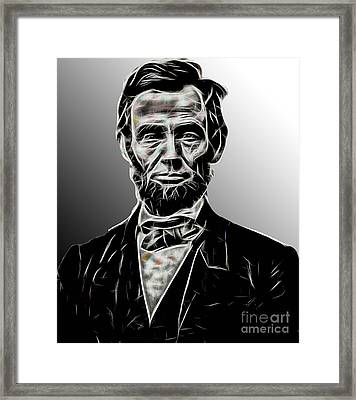 Abraham Lincoln Collection Framed Print