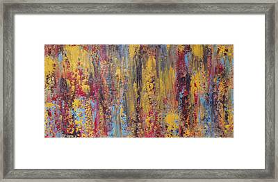 Abstract # 13 Framed Print by Fiona Dinali
