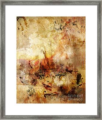 Abstract 132 Framed Print by Angelina Cornidez