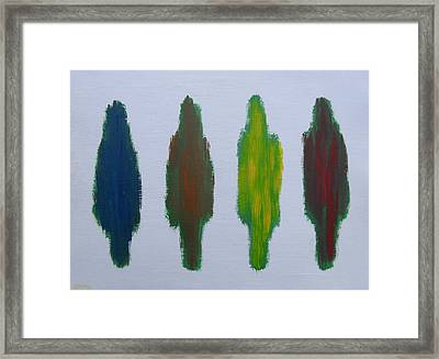 Abstract 199 Framed Print by Patrick J Murphy