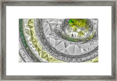 Abstract 2 Framed Print by Paulo Guimaraes