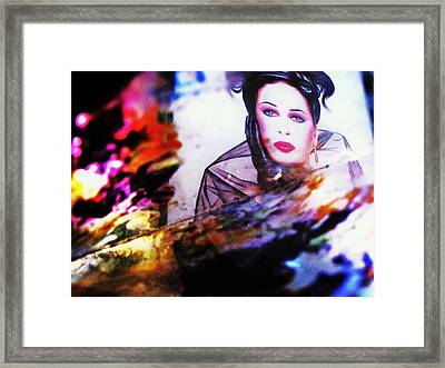 Abstract Framed Print by HollyWood Creation By linda zanini
