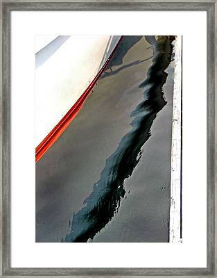 Abstract Number 1 Framed Print