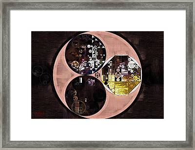 Abstract Painting - Cameo Framed Print