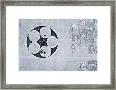 Abstract Painting - Casper Framed Print