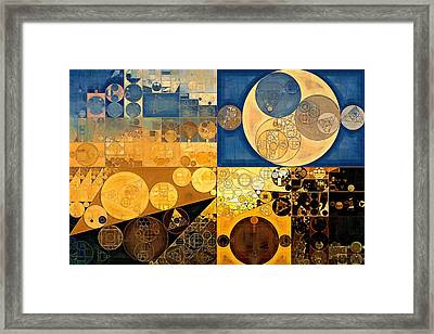 Abstract Painting - Chambray Framed Print by Vitaliy Gladkiy