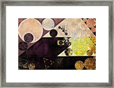 Abstract Painting - Chamois Framed Print by Vitaliy Gladkiy