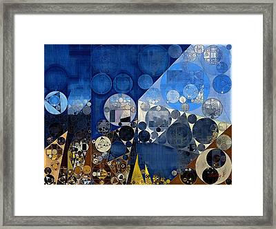 Abstract Painting - Endeavour Framed Print by Vitaliy Gladkiy
