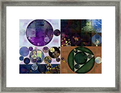 Abstract Painting - Falcon Framed Print by Vitaliy Gladkiy