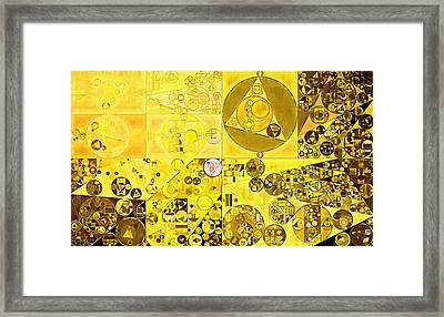 Abstract Painting - Hacienda Framed Print by Vitaliy Gladkiy