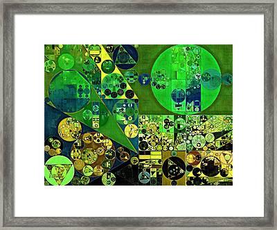 Abstract Painting - June Bud Framed Print by Vitaliy Gladkiy