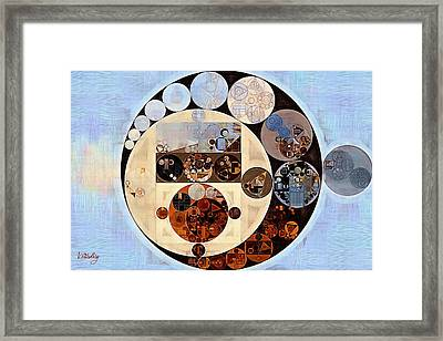 Abstract Painting - Link Water Framed Print