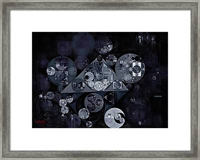 Abstract Painting - Manatee Framed Print by Vitaliy Gladkiy