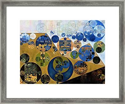 Abstract Painting - Muesli Framed Print by Vitaliy Gladkiy