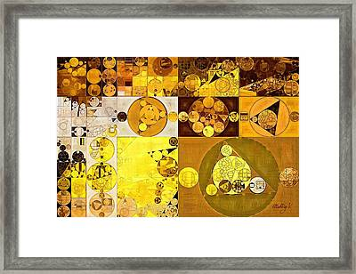 Abstract Painting - Portica Framed Print