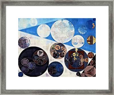 Abstract Painting - San Marino Framed Print by Vitaliy Gladkiy