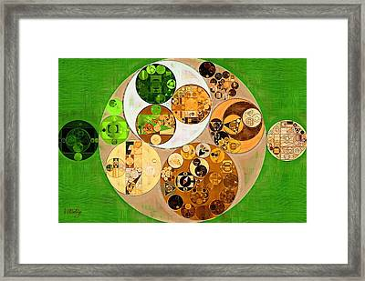 Abstract Painting - Sidecar Framed Print