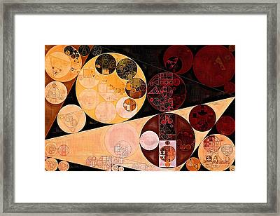 Framed Print featuring the digital art Abstract Painting - Tacao by Vitaliy Gladkiy