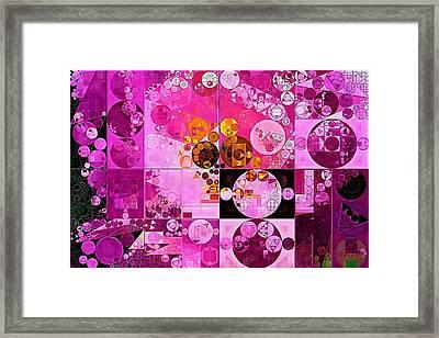 Abstract Painting - Tea Rose Framed Print by Vitaliy Gladkiy