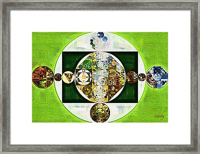 Abstract Painting - Willow Brook Framed Print