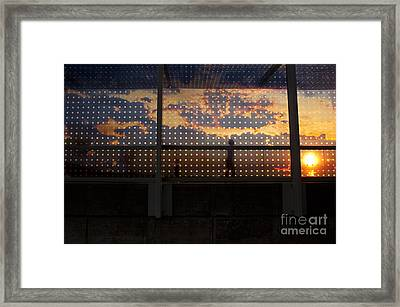 Abstract Silhouettes Framed Print