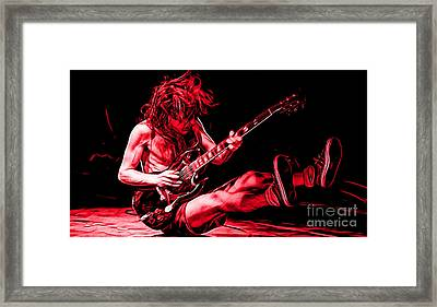 Acdc Collection Framed Print by Marvin Blaine