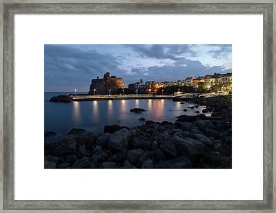 Aci Castello - Sicily Framed Print by Joana Kruse