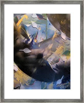 Activated Charcoal Framed Print by Andrea Noel Kroenig