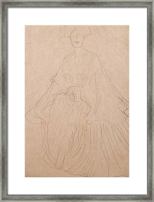 Adele Bloch Bauer Framed Print by Gustav Klimt